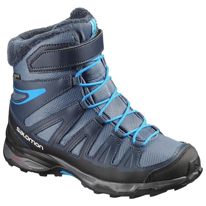 6d6dbac19 Detské Zimné Topánky - Salomon X-ULTRA WINTER GTX® J - Námornícka  Modrá/Čierne | WNDLQK83