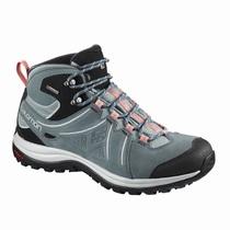 ac193f08b083 Dámske Turistické Topánky - Salomon ELLIPSE 2 MID LTR GTX® W - Svetlo  Tyrkysové